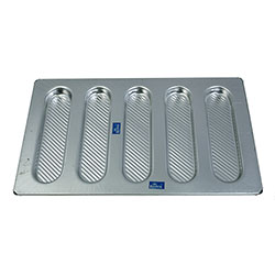 Rolex 5 Cavity Oval Roll Dessert Mould