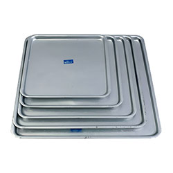 0.5in Square Baking Trays  - 5 Pc