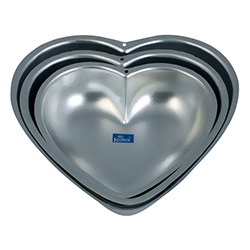 3 Pc Mixed Valentine Heart Cake Mould