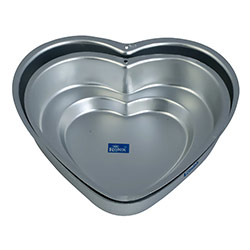2 Pc Mixed DD Heart Cake Mould
