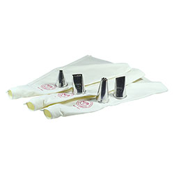 3 Cotton Icing Bag with 4 Jumbo Nozzles