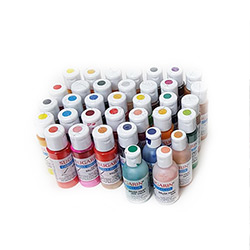 Water Base Air Brush Color Set