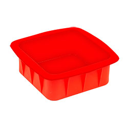 Silicone 6 Inc Square Cake Mould