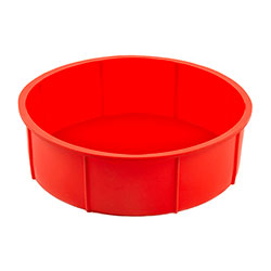 Silicone 8 Inc Round Cake Mould
