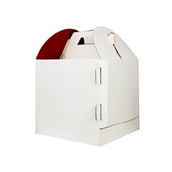Tier Cake Boxes 10X10X10