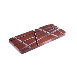 Chocolate Mould Tablet Slanting Line CW1769