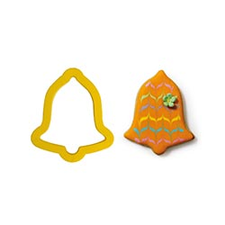 Bell Plastic Cookie Cutter