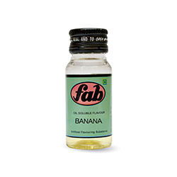 Banana - Fab Oil Soluble Flavours
