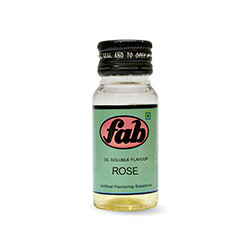 Fab Rose Oil Soluble Flavours