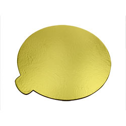 Golden Holder Cake Base - Pack of 5