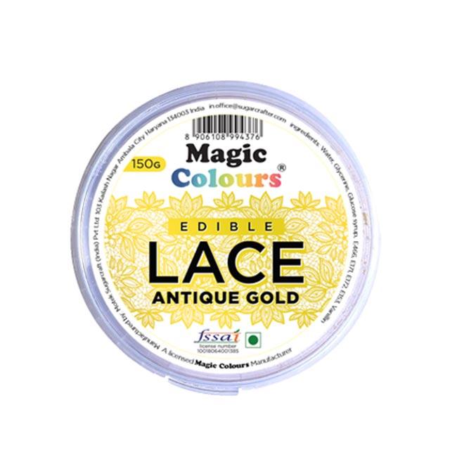 Magic Colours Antique Gold Edible Lace