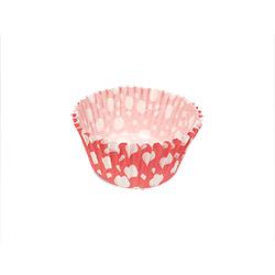11cm Pink & White Polka Dots Liner