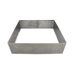 5 inch Perforated Square Tart Ring