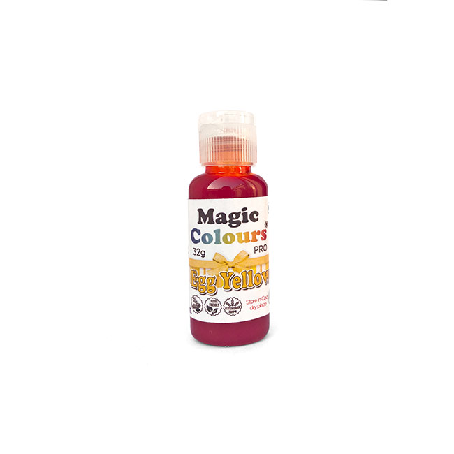 Shop Egg Yellow Gel Color by Magic Online in India